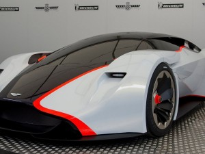 Aston Martin prototype flys to the USA