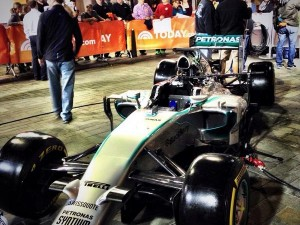 Mercedes AMG Petronas F1 on The Today Show