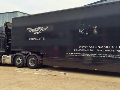 Aston Martin Spectre Tour