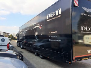 DB11 tour hits the road