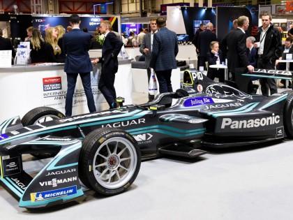 Formula E at the Autosport Show